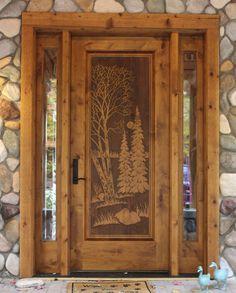 14)Petoskey door
