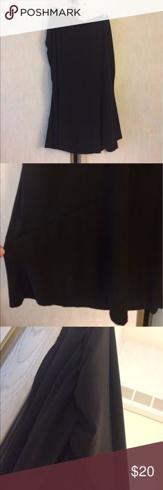 🆕 (3X) NWOT Randolph Duke Skirt Cinched at one side.  *Brand: Randolph Duke *Color: Black *Condition: New with out tags  *Material: 92% polyester 8% spandex  *Size: 3X *Waist Size: Approximately 44 inches. Very stretchy  *Length: Approximately 34 inches long.    ♥ I am from a smoke free home.  ♥ I have cats and a dog. I always make sure my clothing is fur free, but sometimes there could be a stray hair or two left. Randolph Duke Skirts Maxi