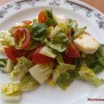Baby salát s medovou zálivkou