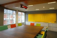 #casca #glassboard #writingboard #yellow #officeinteriors