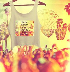 Coachella I'm With The Band Music Fest Crop Top