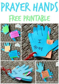 Prayer hands - free printable
