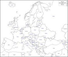 Cartina Muta Laghi Europei.38 Idee Su Geografia Geografia Attivita Geografia L Insegnamento Della Geografia