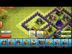 Clash Of Clans - Clan Wars Base (After Update) Spider Web Clash On, Phone Games, Game App, Town Hall, Clash Of Clans, Minions, Clan Castle, War, Spider