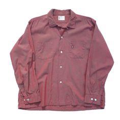 VINTAGE【SEARS】オープンカラーシャツ - RUMHOLE beruf online store