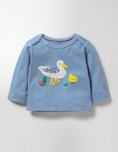 If you go down to the woods today you might spot a friendly animal from our wildlife-toting tees. Huggably soft in cotton, these tops make dressing easy thanks to the envelope necks. And the best bit? The appliqués match the rest of our baby range, making mixing and matching simple.