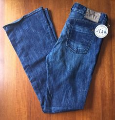 Chip & Pepper Womens Sz 28 (31x34 actual) Olivia Bootcut Jeans Dark Wash 1A #ChipPepper #OliviaBootcut