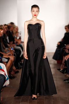 "<p tabindex=""-1"">Zac Posen spring 2015. Photo: Peter Michael Dills/Getty Images</p>"