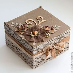 New Jewerly Box Handmade Vintage 50 Ideas Shabby Chic Boxes, Shabby Chic Crafts, Decoupage Box, Decoupage Vintage, Cigar Box Crafts, Altered Cigar Boxes, Handmade Jewelry Box, Vintage Jewelry, Antique Jewelry