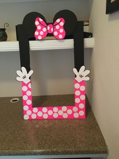 Minnie Mouse Photo Booth