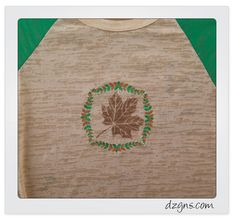 Leaves! by Denise Holguin If you're a Designs in Machine Embroidery magazine reader, then you'll enjoy this expanded coverage of the Subtle Tees project featured in Volume 104 May/June 2017.  ...