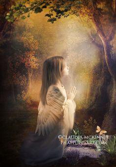 """""""Littlest Angel""""  ©Phatpuppyart.com    Facebook  http://facebook.com/phatpuppyartist"""