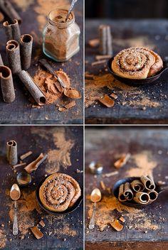 Cinnamon Rolls photographed by Cintamani