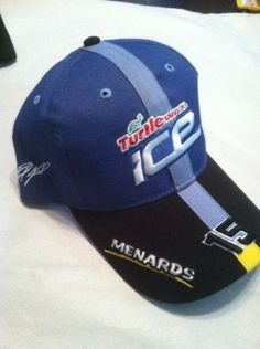 Paul Menard DEI Turtlewax Ice Team Issued Hat New Old Stock Adjustable