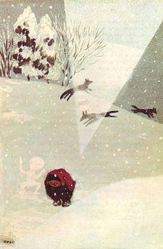 Rokuro Taniuchi, illus. from Winds and Wildcat Places by Kenji Miyazawa. @Estee Ikemoto via Phil Cain