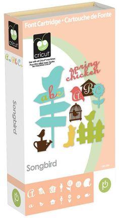 Cricut® Songbird Cartridge