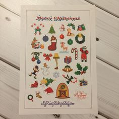 Christmas Stickers for Passion Planner, Erin Condren, Happy Planner, Bujo, Filofax, Kikkik...etc by LyRainzStickrzNStuff on Etsy