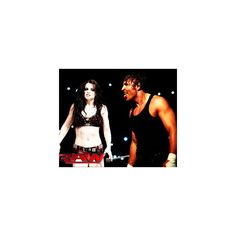 Dean and Paige ❤ liked on Polyvore featuring wwe couples