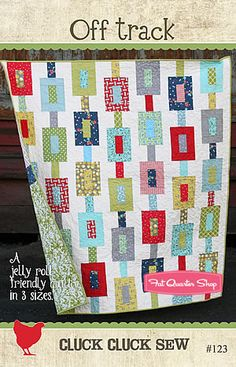 Off Track Quilt Pattern Cluck. Cluck. Sew Quilt Patterns