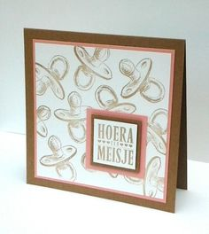HP Stempel 65a , Hoera een Meisje Scrapbook, Frame, Cards, Home Decor, Atelier, Picture Frame, Scrapbooks, A Frame, Maps