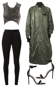 """Untitled #249"" by whokd ❤ liked on Polyvore featuring Alexander Wang, Victoria Beckham, Juun.j and Gianvito Rossi"