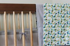 Baby Blanket Geometric Blanket by TheWakingHours on Etsy