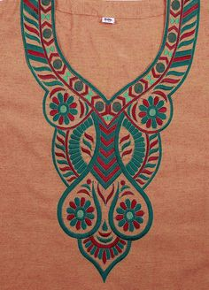 IT112 93P Latest Embroidery Designs, Embroidery Patterns, Coloring Pages, Fancy, Punjabi Suits, Clothes For Women, Knitting, Motifs, Kaftan