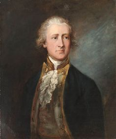 THOMAS GAINSBOROUGH* (1727-1788) PORTRAIT OF CAPTAIN PHIPPS, HALF LENGTH, IN NAVAL UNIFORM