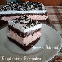 Fincsi receptek: Krémes sütik My Recipes, Sweet Recipes, Cookie Recipes, Dessert Recipes, Hungarian Desserts, Hungarian Recipes, Hungarian Food, Eastern European Recipes, European Cuisine