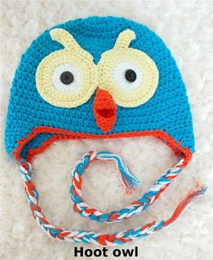 Hoot Handmade Owl Beanie GIFT Girl Boy Toddler Baby shower Kids Child Photo toy in Baby, Baby Clothing, Accessories Child Photo, Boy Toddler, Newborn Crochet, Baby Boy Newborn, Girl Gifts, Baby Toys, Kids Boys, Owl, Crochet Hats