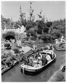 1960 King and Queen of Thailand riding Storybook Land with Walt Disney / Disneyland-Anaheim, CA Old Disney, Disney Love, Disney Magic, Disney Theme, Disney Stuff, Disney Parks, Walt Disney World, Disneyland Parks, Disneyland Photos