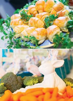 Sweet Peter Rabbit First Birthday Party