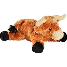 Aurora Unisex Little Longhorn Stuffed Toy Animal Brown One Size *** Find out more about the great product at the image link. (This is an affiliate link) #StuffedAnimalsTeddyBears