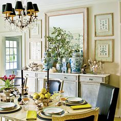 Refined Traditional Thanksgiving Tablesetting - Southern Living