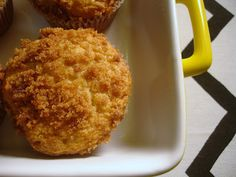"""cinnamon struesel topped muffins from """"Don't Disturb this Groove"""".~ Made these today and they are delish! Will definetely be making again soon!"""