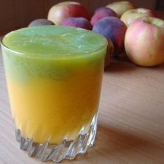 mango & kiwi juice