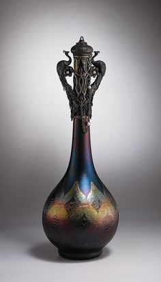 Louis Comfort Tiffany, the Morse Museum, Orlando, Florida Tiffany Art, Tiffany Glass, Stained Glass Lamps, Murano Glass, Louis Comfort Tiffany, Flower Aesthetic, Old Bottles, Waterford Crystal, In Vino Veritas