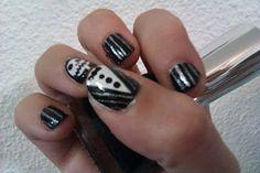 Manicura uñas Diseño Pesadilla II