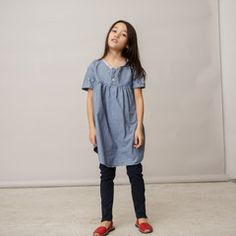 Just in time for Spring Fashion. the KIMONO TUNIC in INDIGO. We love layering it with leggings.. try patterned of solid colors. NOW AVAILABLE form KallioNYC.com. #kidsstyle #Brooklyn #MadeinUSA #recycled #ReduceReuseRecycle #Girls #VintageDress #SS14 #SpringStyle