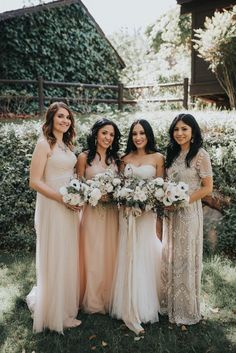 Consider a few of these tips for saving your bridesmaids money as you plan bridal party looks activities gifts and accommodations. - March 23 2019 at Budget Wedding, Chic Wedding, Perfect Wedding, Wedding Planning, Wedding Day, Wedding List, Wedding Styles, Wedding Stuff, Cheap Wedding Flowers