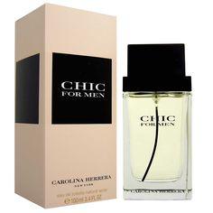 Carolina Herrera Chic For Men Eau de Toilette Masculino - The Beauty Box