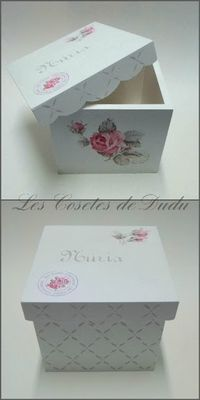 Les Cosetes de Dudu: TALLER DE TRÁNSFER Y DECOUPAGE CON NÚRIA Decoupage Box, Decoupage Vintage, Tole Painting, Painting On Wood, Shabby, Fun Crafts, Diy And Crafts, Dyi Decorations, Altered Boxes