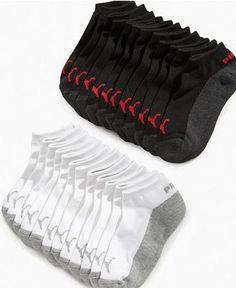 black & gray Puma kids socks 6 pack $12.98