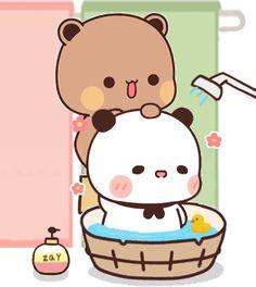 Cute Anime Cat, Cute Bunny Cartoon, Cute Cartoon Pictures, Cute Love Pictures, Cute Cat Gif, Cute Couple Cartoon, Cute Bear Drawings, Cute Little Drawings, Chibi Cat