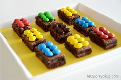 Lego brownies.