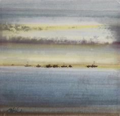 Deniz Küstü, 1979 by Abidin Dino. Abstract Expressionism. landscape
