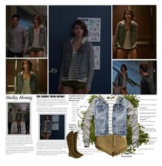 """""""Shelley Hennig as Malia Tate / Hale. { Teen Wolf - 5.06 Required Reading }"""" by albacampbell ❤ liked on Polyvore featuring Episode, Free People, Ten-Sixty Sherman, Abercrombie & Fitch and Keddo"""