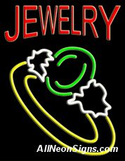 """Jewelry (large size) Neon Sign-10479  24""""x31""""x3""""  110 volt U.L. 2161 transformers  Cool, Quiet, Energy Efficient  Hardware & chain are included  6' Power cord  For indoor use only  1 Year Warranty/electrical components  1 Year Warranty/standard transformers."""