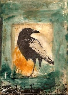 Crow, The Watcher by Seth Fitts by ernestine