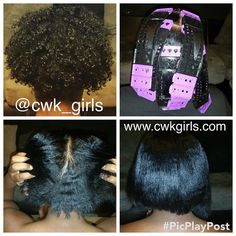 CWK Girls is a natural hair brand that specialize in haircare for Curly, Wavy and Natural Hair Girls. We are most popular for our SSS Plates, a hair tool that stretced hair without heat. Be Natural, Natural Hair Tips, Natural Hair Styles, Natural Girls, Going Natural, Girls Natural Hairstyles, Curled Hairstyles, Prom Hairstyles, Hairdos